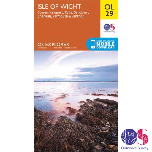 Ordnance Survey Explorer – OL 29 – Isle of Wight