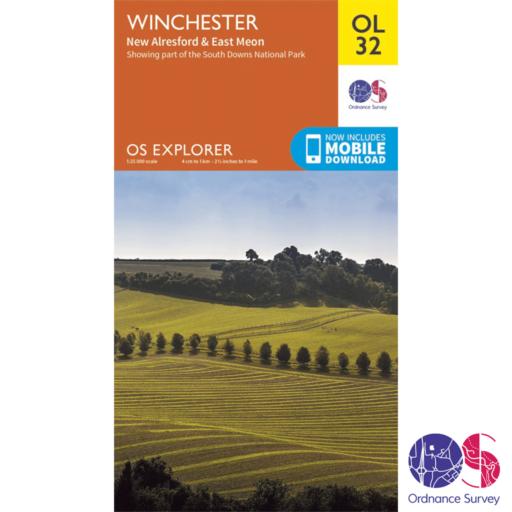 Ordnance Survey Explorer – OL 32 – Winchester