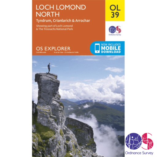 Ordnance Survey Explorer – OL 39 – Loch Lomond North