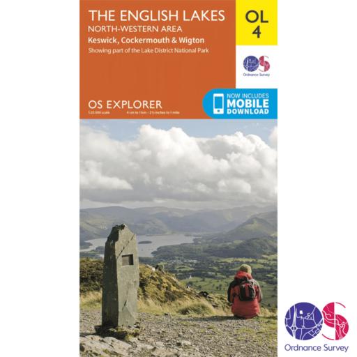 Ordnance Survey Explorer – OL 4 – English Lakes NW