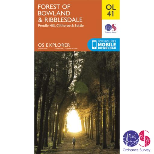 Ordnance Survey Explorer – OL 41 – Forest of Bowland