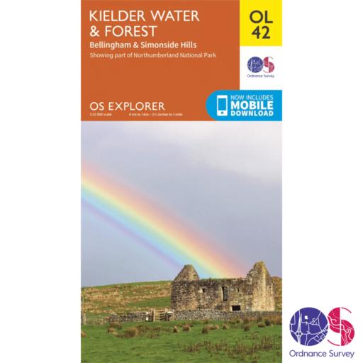 Ordnance Survey Explorer – OL 42 – Kielder Water and Forest