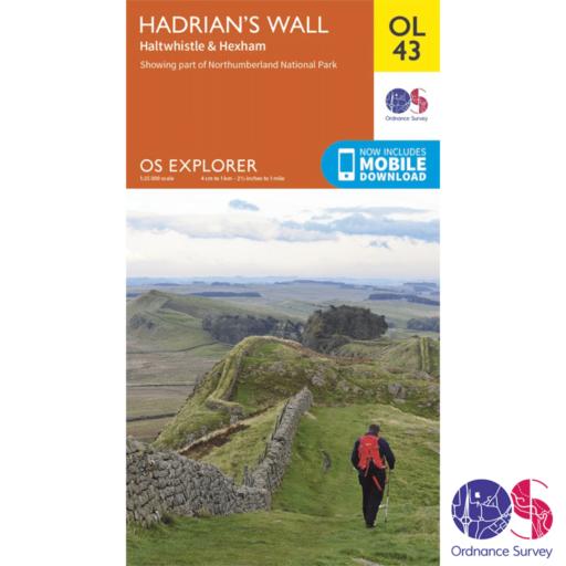 Ordnance Survey Explorer – OL 43 – Hadrians Wall