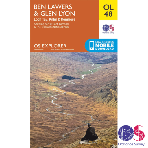 Ordnance Survey Explorer – OL 48 – Ben Lawers and Glen Lyon