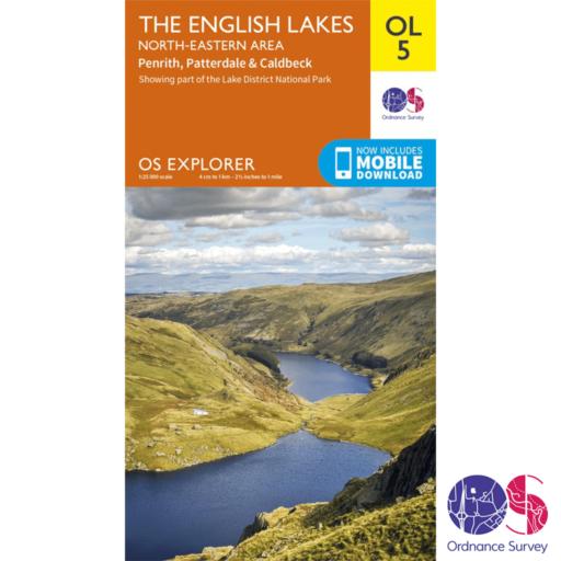 Ordnance Survey Explorer – OL 5 – English Lakes NE