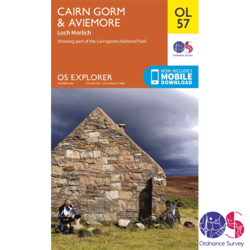 Ordnance Survey Explorer – OL 57 – Cairn Gorm and Aviemore