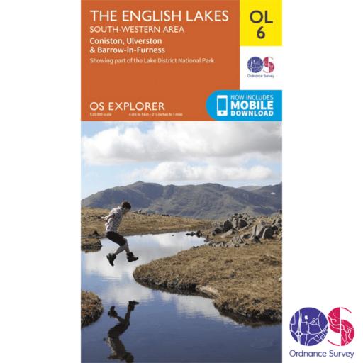 Ordnance Survey Explorer – OL 6 – English Lakes SW