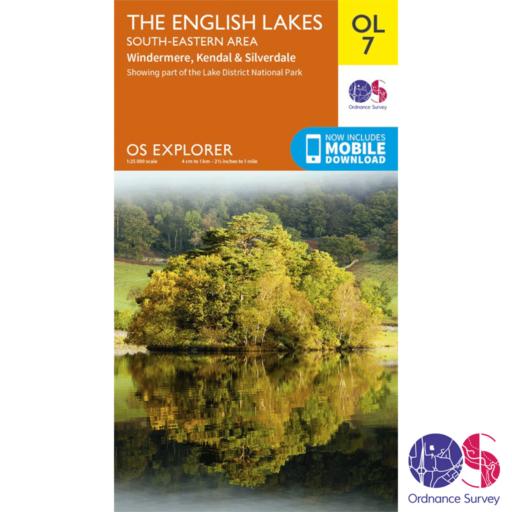 Ordnance Survey Explorer – OL 7 – English Lakes SE