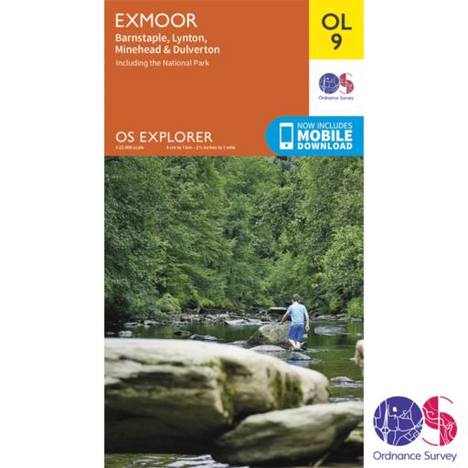 Ordnance Survey Explorer – OL 9 – Exmoor