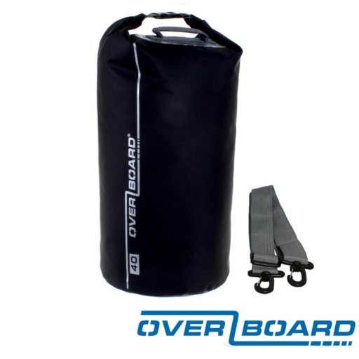 OverBoard Waterproof Dry Tube Bag – 40 L – Black