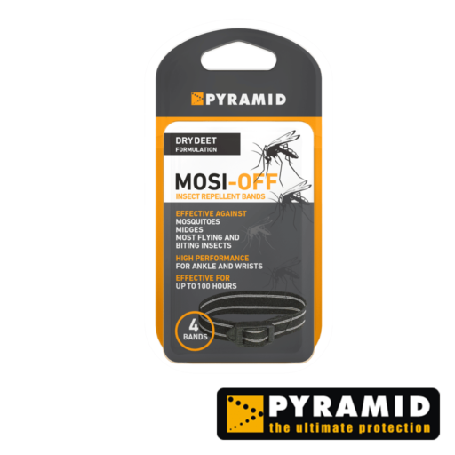 Pyramid Mosi-Off Bands – Dry DEET – 4 Pack