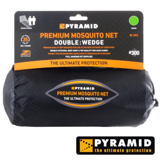 Pyramid Premium Wedge – Double – Green