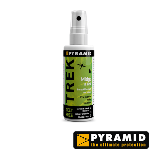 Pyramid Trek Midge and Tick – DEET Free – 60 ml