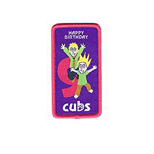 Cubs 9th Birthday Fun Badge