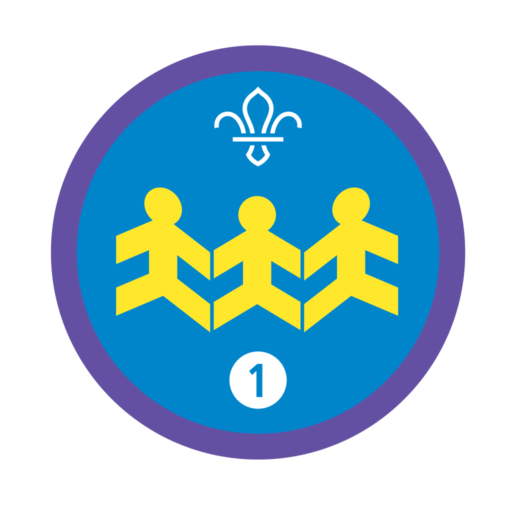 Community Impact Stage 1 Staged Activity Badge