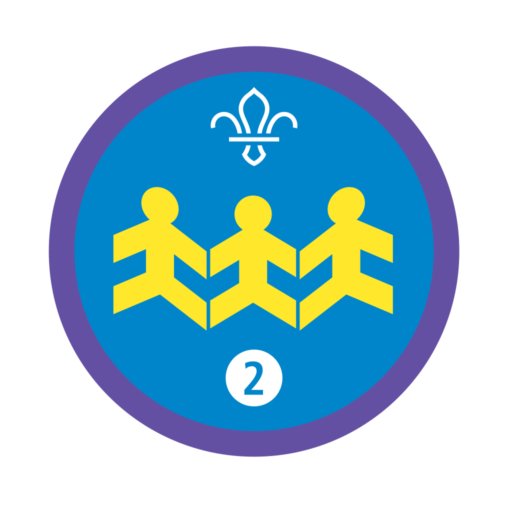 Community Impact Stage 2 Staged Activity Badge