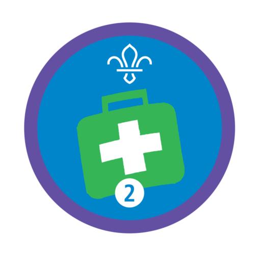 Emergency Aid Stage 2 Staged Activity Badge