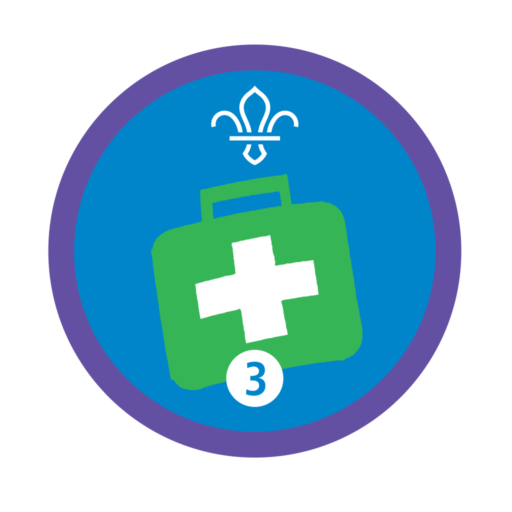 Emergency Aid Stage 3 Staged Activity Badge