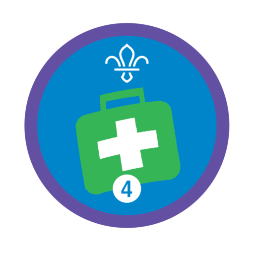Emergency Aid Stage 4 Staged Activity Badge