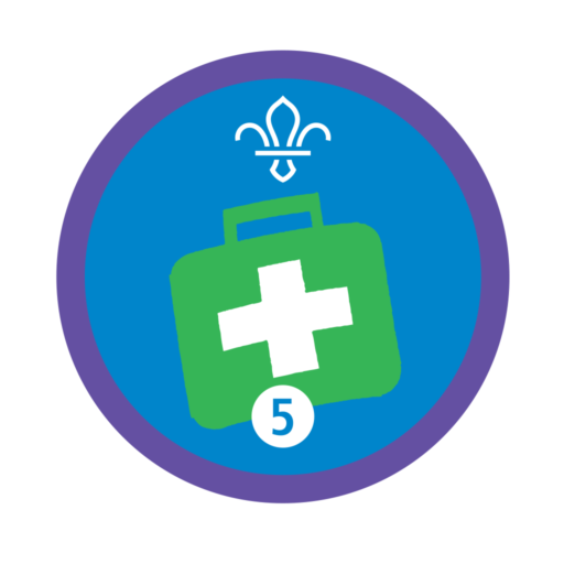 Emergency Aid Stage 5 Staged Activity Badge
