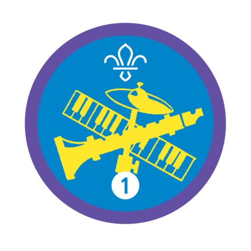 Musician Stage 1 Staged Activity Badge