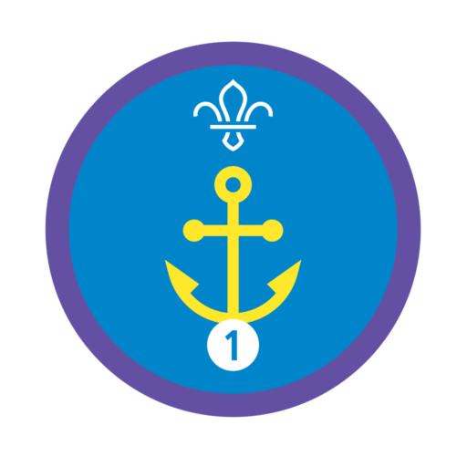 Nautical Skills Stage 1 Staged Activity Badge