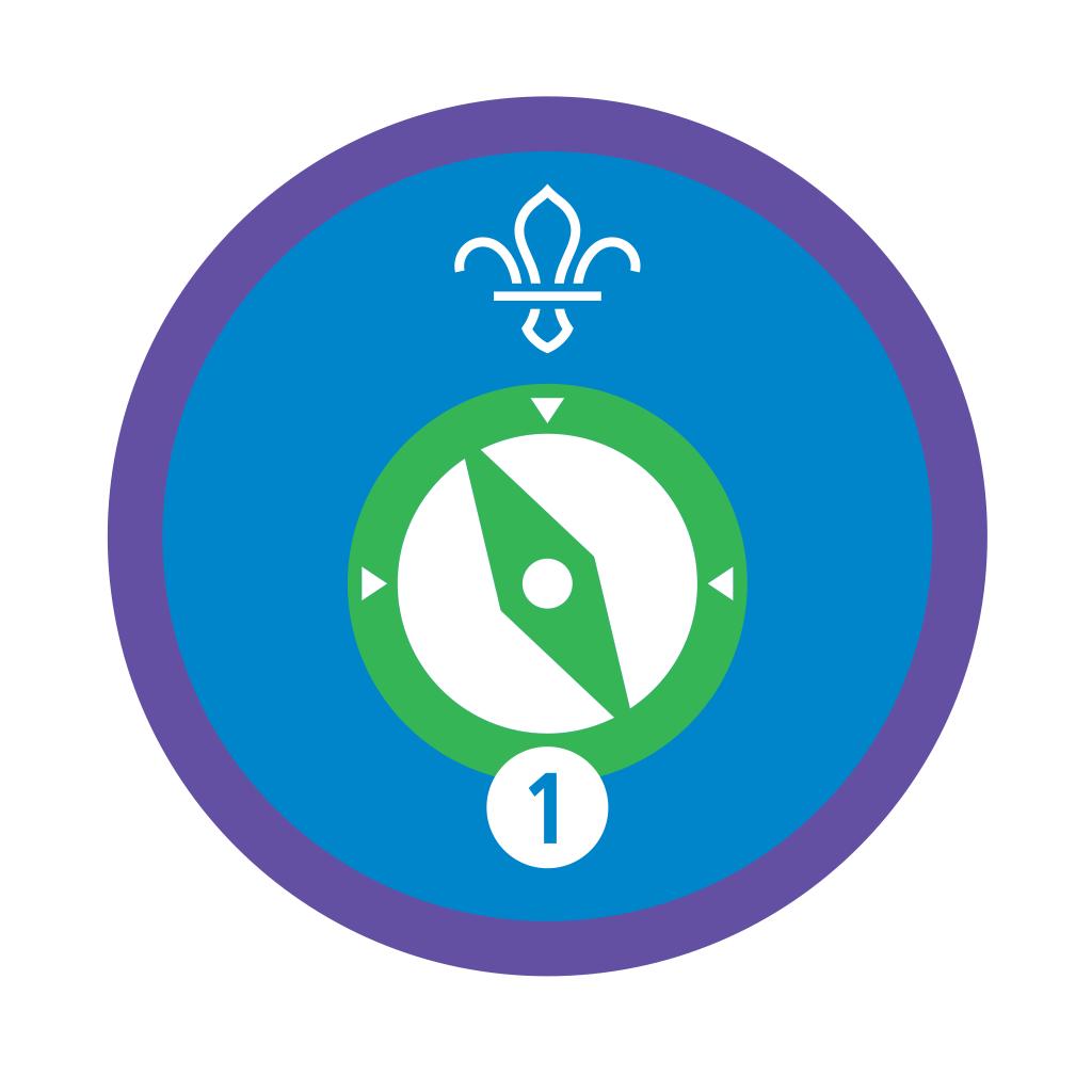 Navigator Stage 1 Staged Activity Badge