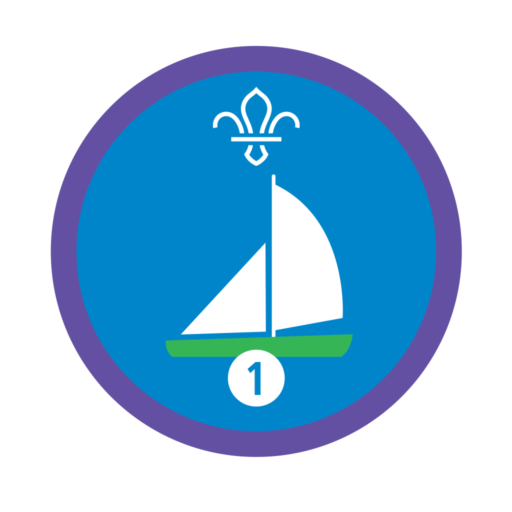 Sailing Stage 1 Staged Activity Badge