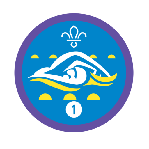 Swimmer Stage 1 Staged Activity Badge
