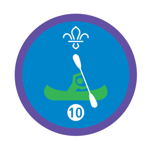 Time on the Water Stage 10 Staged Activity Badge