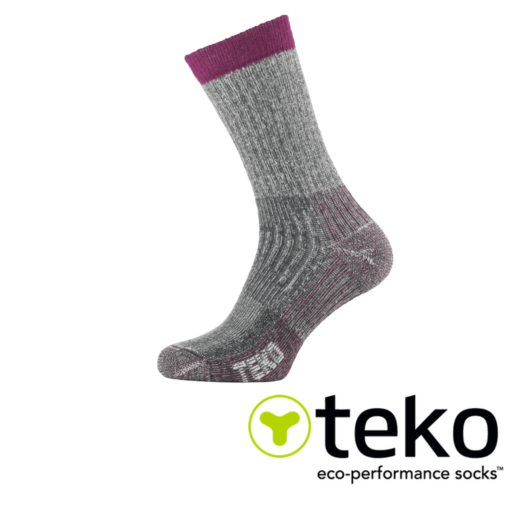 Teko Women's Merino Hiking Socks Medium Cushion