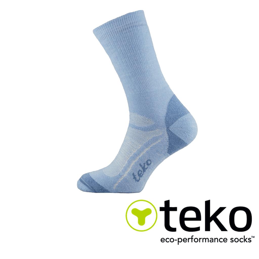 Teko Mens SIN3RGI Explorer Midweight Hiking Sock