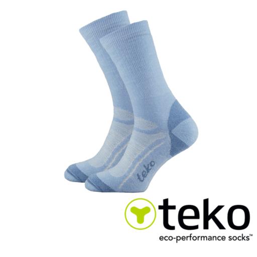 Teko Women's Midweight Merino Hiking Socks