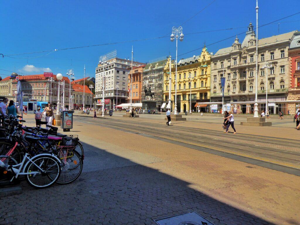 Central Plaza, Zagreb, Croatia