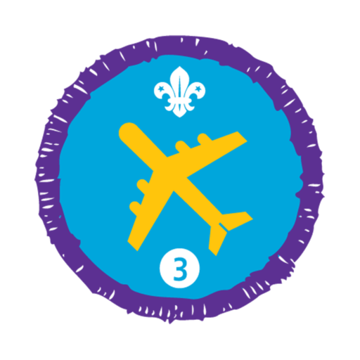 Air Activities Stage 3 Staged Activity Badge