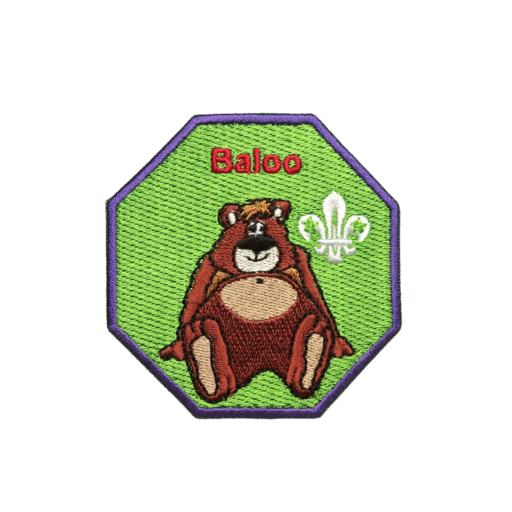 Cubs Baloo Fun Badge