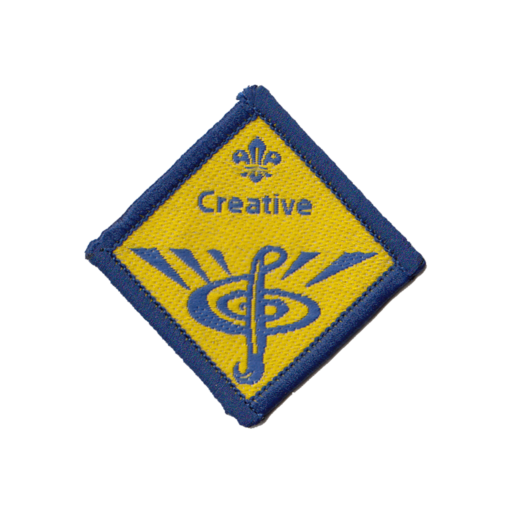 Beavers Creative Challenge Award Badge (Pre 2015 Collection)