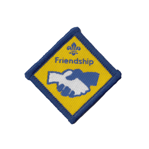 Beavers Friendship Challenge Award Badge (Pre 2015 Collection)