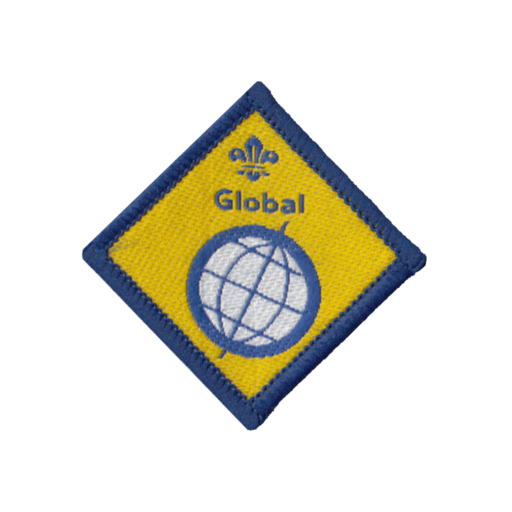 Beavers Global Challenge Award Badge (Pre 2015 Collection)