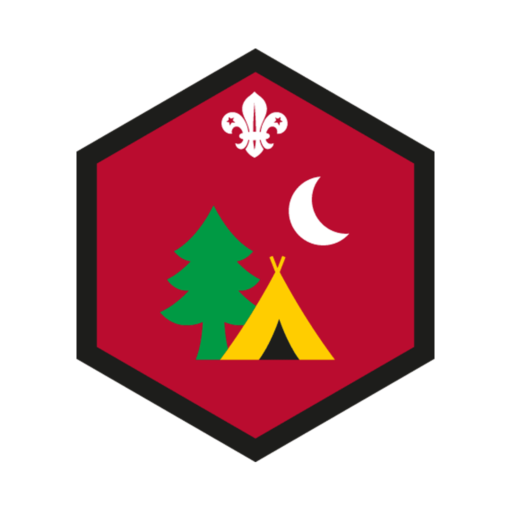 Beavers My Outdoors Challenge Award Badge