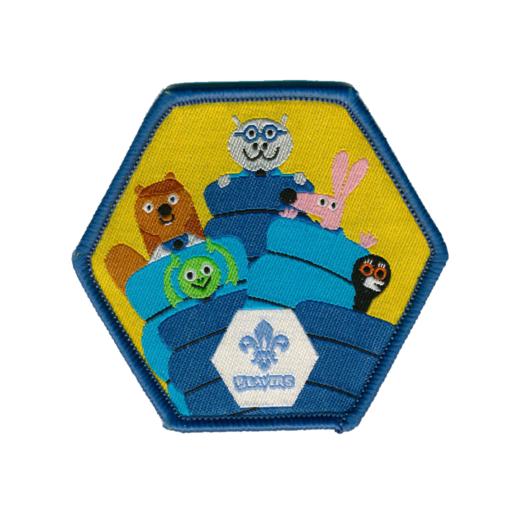 "Beavers ""Sleepover"" Fun Badge"