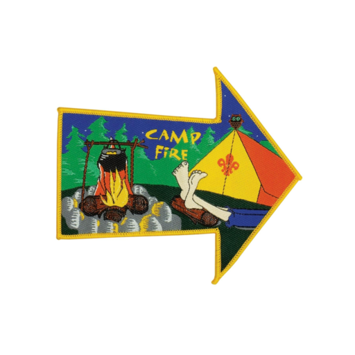 Camp Fire Fun Badge (Pre 2018 Collection)