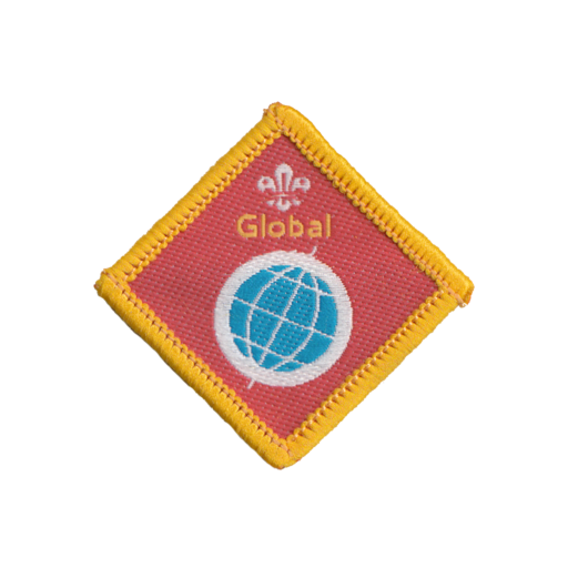 Cubs Global Challenge Award Badge (Pre 2015 Collection)