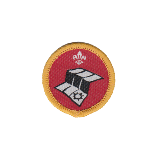 Cubs Map Reader Activity Badge (Pre 2015 Collection)