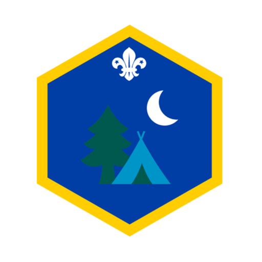 Cubs Our Outdoors Challenge Award Badge