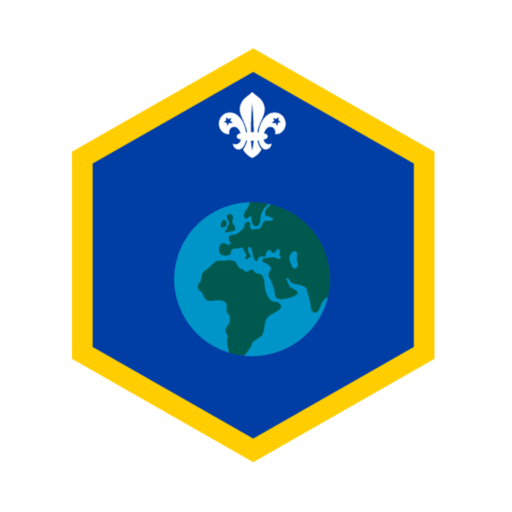 Cubs Our World Challenge Award Badge