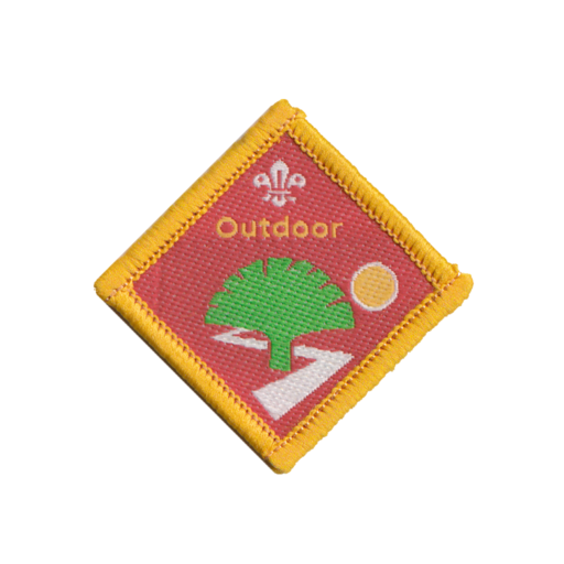 Cubs Outdoor Challenge Award Badge (Pre 2015 Collection)