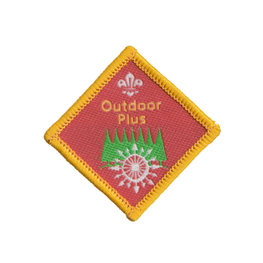 Cubs Outdoor Plus Challenge Award Badge (Pre 2015 Collection)