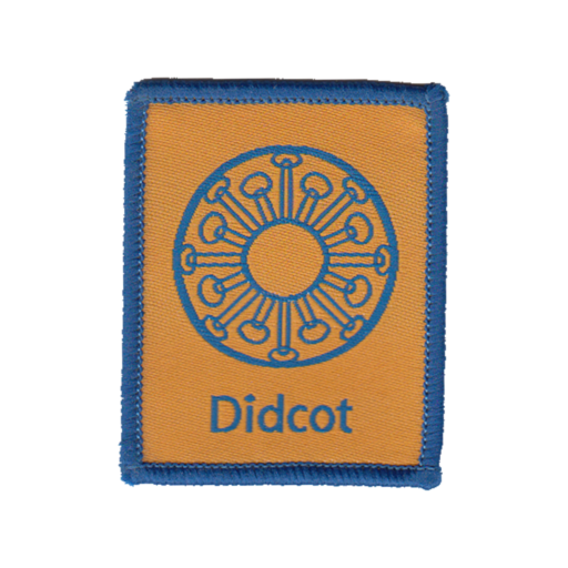Didcot District Badge
