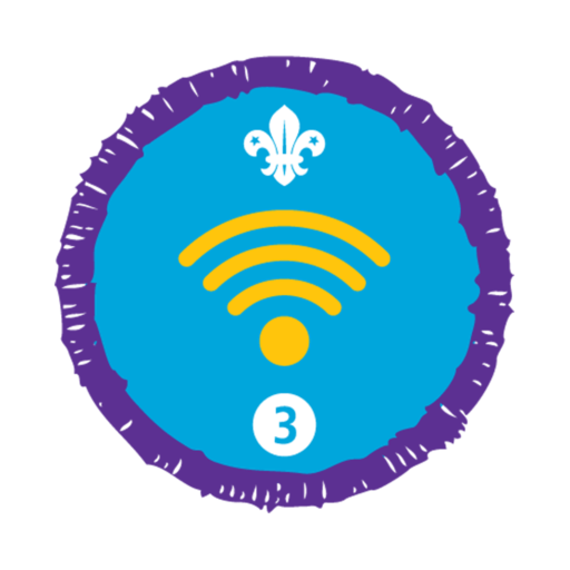Digital Citizen Stage 3 Staged Activity Badge